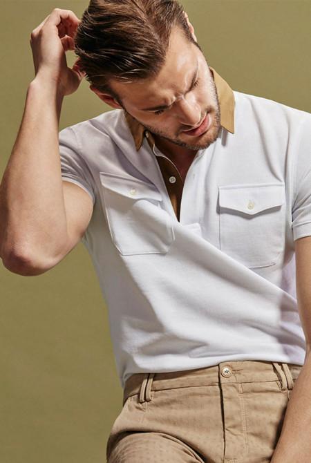 La camisa tipo polo se renueva gracias a Massimo Dutti