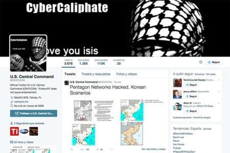 ¿Ciber-yihad? Simpatizantes de ISIS se hacen con el control de la cuenta del Mando Central de EEUU en Twitter