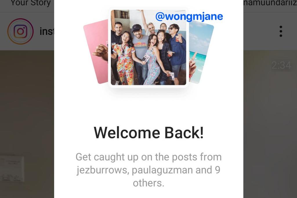 Instagram está comprobando a traer de vuelta el orden cronológico, mas u menos, con