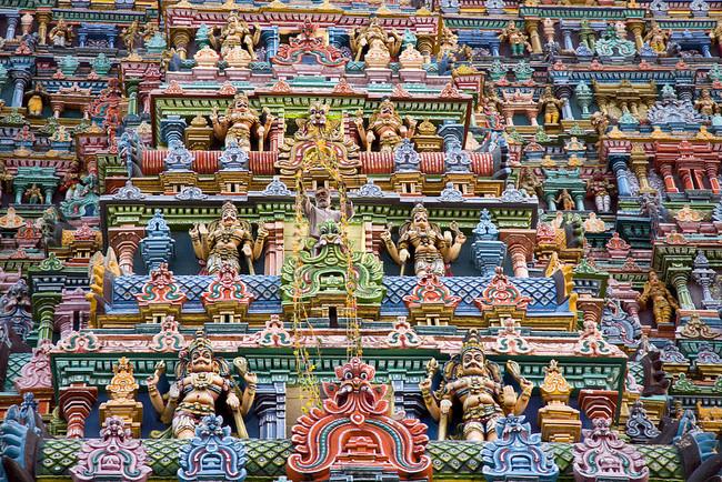 Meenakshi El Templo Mas Colorista Del Mundo