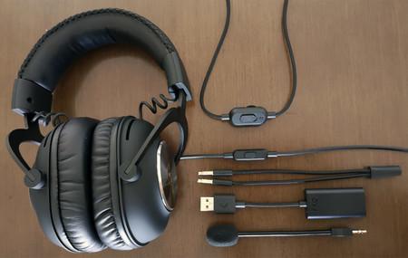 Logitech G Pro X, análisis: auriculares con etiqueta gaming, pero también la de elegancia y calidad