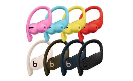 Apple planea lanzar nuevos colores rosa, azul, amarillo y rojo para los Powerbeats Pro según rumores