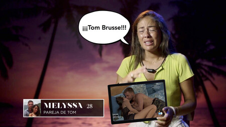 El beso de Tom Brusse con Sandra y el perreo intenso hasta el suelo: esta ha sido la respuesta del marroquí al 'Prison Break' de Melyssa Pinto en 'La Isla de las Tentaciones 2'