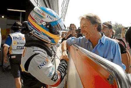 """Fernando Alonso: """"Me gustaría mucho poder correr con Ferrari"""""""