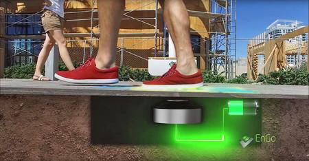 """Cuando nuestros pasos se convierten en la energía que impulsa estas farolas """"inteligentes"""""""