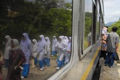 De Singapur a Vitoria en tren