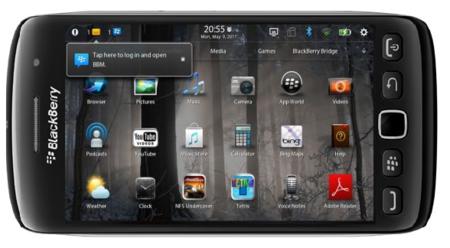 BlackBerry Colt será completamente táctil y contará con procesador de doble núcleo