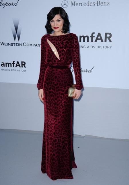 Jessie J amFAR 2012 Cannes