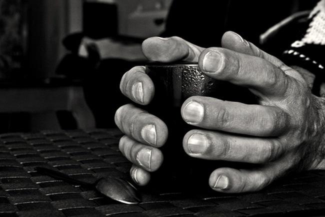 bebida manos