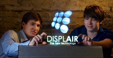 Displair, la pantalla holográfica táctil que soñó la ciencia ficción hecha realidad