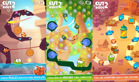 Cut the Rope 2 para Android