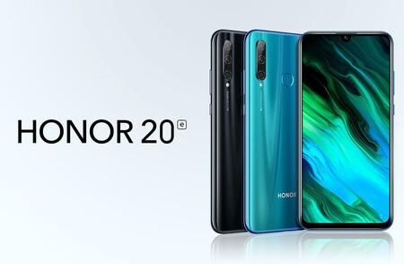 El Honor 20e es perfecto para regalar el primer móvil por Navidad y hoy tiene un descuento brutal: llévatelo por menos de 100 euros