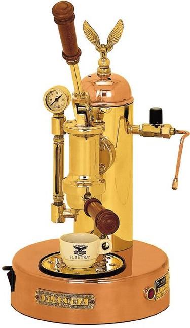 Espresso auténtico y diseño de lujo
