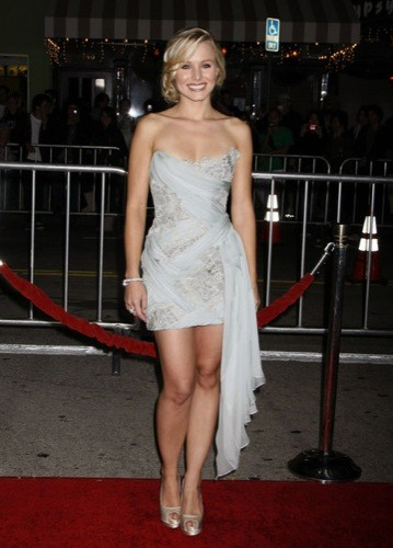 El look de Kristen Bell en la premiere de Couples Retreat