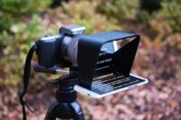 Si te grabas en vídeo y no te acuerdas del guión, Parrot Teleprompter es tu accesorio