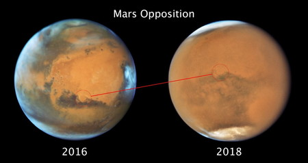 Mars 2016 2018 Side By Side
