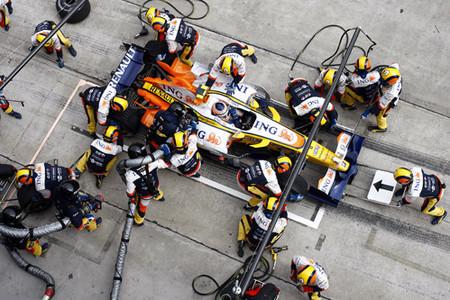 GP de Gran Bretaña. Cargas de Combustible