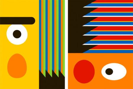Posters minimalistas de Epi y Blas