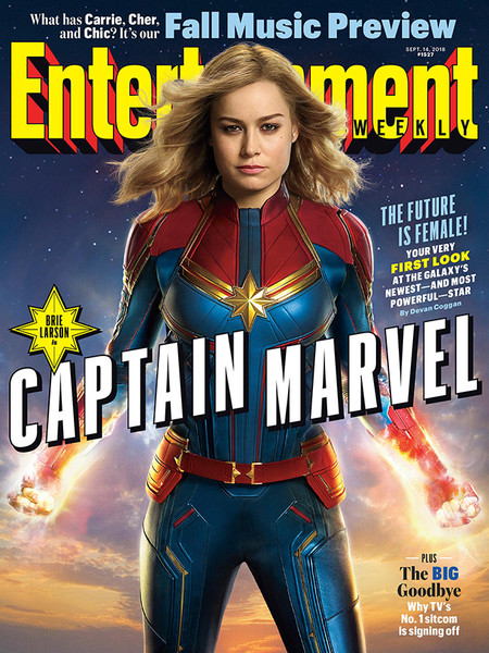 Captain Marvel Portada
