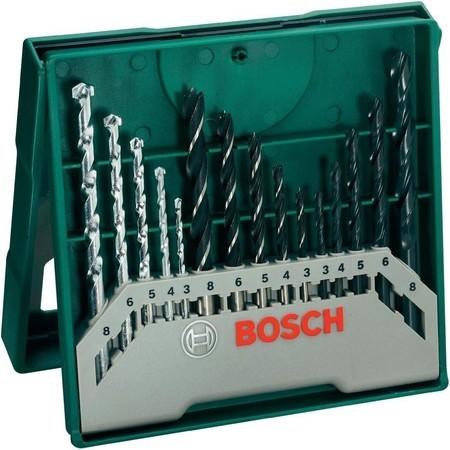 Día del padre 2018: pack de 15 brocas Bosch Mini X-Line por 6,25 euros en Amazon