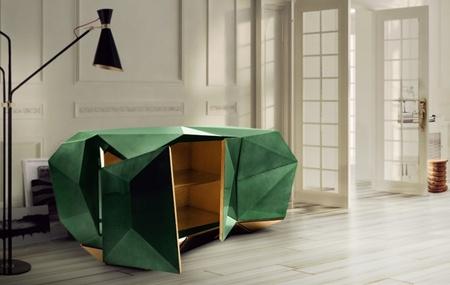 El verde esmeralda llega ya a todo tipo de muebles