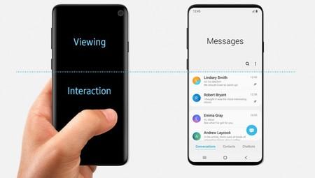 """Samsung confirma el diseño del Galaxy S10 """"sin querer"""": tendrá marcos reducidos y agujero en pantalla"""