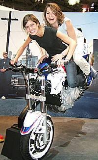 Chris Pfeiffer Stoppie Stunt Bike