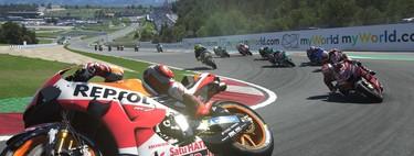 Analizamos el MotoGP20: el videojuego oficial de MotoGP es una experiencia aún más realista a costa de la jugabilidad
