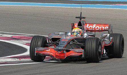 Lewis Hamilton, el más rápido en el Paul Ricard