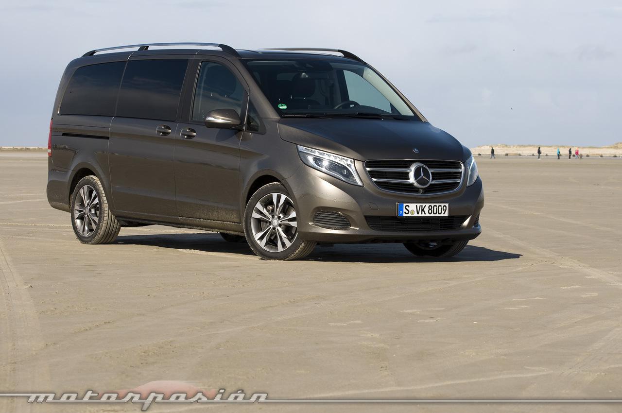Foto de Mercedes-Benz Clase V (toma de contacto) (13/44)