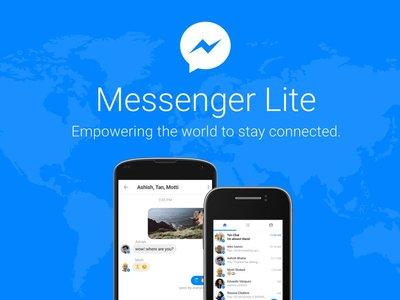 Facebook presenta Messenger Lite en Colombia: así es cómo funciona