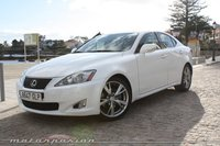 Lexus IS 250, prueba: exterior e interior