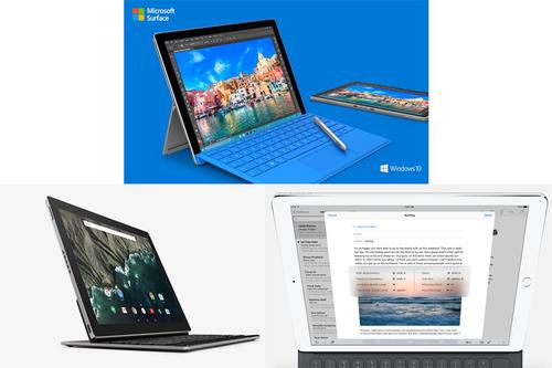 Estas tabletas compiten para ser el reemplazo de las computadoras portátiles