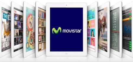 Movistar anuncia sus planes de datos especiales para el iPad 2 en España