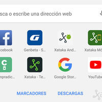 Chrome para Android: cómo añadir los accesos directos a los marcadores y descargas en la nueva pestaña
