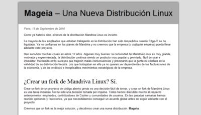 Mageia, nace un fork de Mandriva Linux