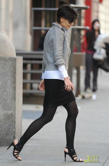 Katie Holmes y su amor por los zapatos