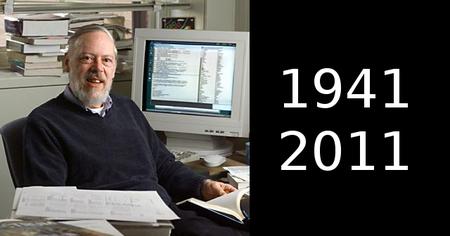 Fallece Dennis Ritchie, creador del lenguaje C y del sistema operativo Unix