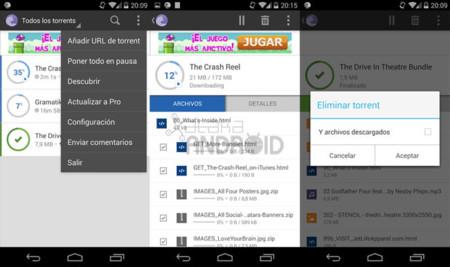 BitTorrent 2.0 para Android
