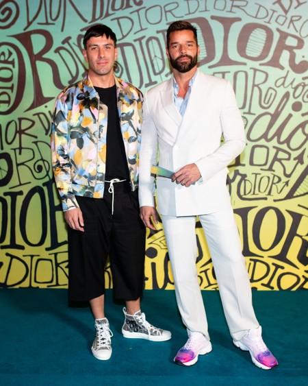 Ricky Martin Dior Fall 2020 3 12 19