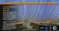 Jornada de puertas abiertas en 'El Observatorio del Teide' este fin de semana