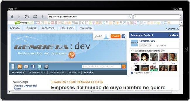 iPad Virtual