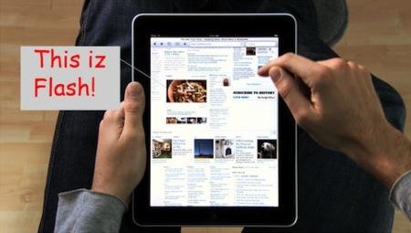 ¿El iPad es compatible con Flash o Apple nos engaña con sus imágenes promocionales?