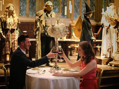 Si estás enamorado, y eres fan de Harry Potter, puedes cenar en Hogwarts por San Valentín