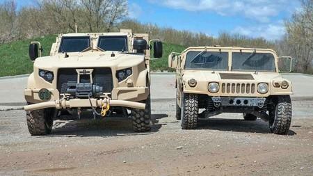 Oshkosh L Atv Humvee