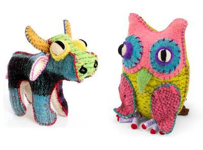 Twoolies, preciosos muñecos de lana hechos a mano