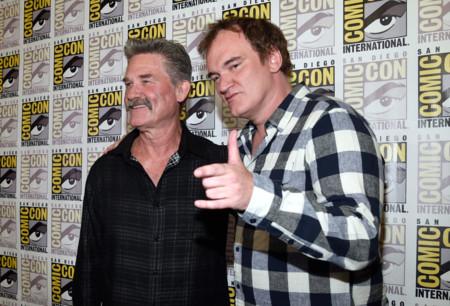 Quentin Tarantino y Kurt Russell en la San Diego Comic-Con