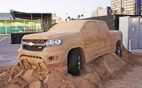 """Mira este Chevrolet Colorado """"jugando"""" en la arena"""