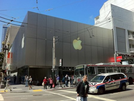 Así es la Flagship Apple Store de San Francisco