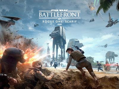 Star Wars: Battlefront nos permite ver el DLC Rogue One: Scarif con su tráiler de lanzamiento